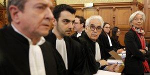 Christine Lagarde, procès arbitrage, Cour de justice de la République, CJR, Bernard Tapie, FMI, ministre des Finances de Nicolas Sarkozy, gouvernement François Fillon, lundi 12.12.2016,