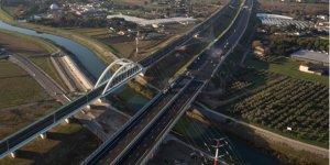 Le viaduc Lez-Lironde est le plus gros ouvrage d'art du chantier
