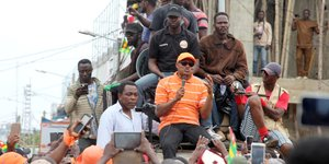 Jean-Pierre Fabre Togo manifestation