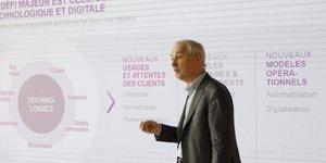 François Pérol BPCE plan stratégique digital