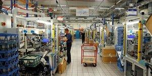 Debut d'annee en fanfare pour le secteur prive en zone euro