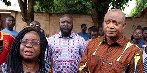 Togo Brigitte Adjamagbo Jean-Pierre Fabre