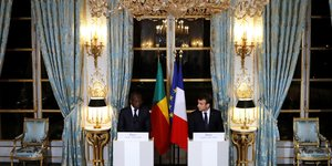 Macron Talon Bénin France