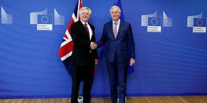 Brexit: michel barnier annonce un accord sur la transition