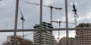 La construction accelere en france en fevrier