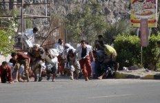 Frappes aériennes au Yémen, 25 mars 2015, Aden