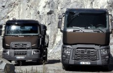 Renault Truck camion gris