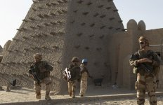 Opex Armée française Tombouctou Burkina Faso 2014.11.05