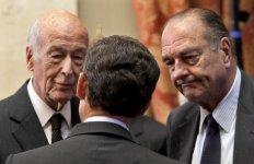 Giscard chirac sarkozy