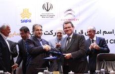 Signature JV Citroën et SAIPA en Iran