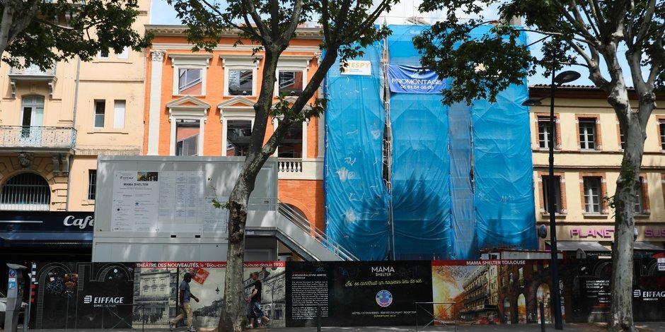 Les travaux ont débuté en janvier 2017.