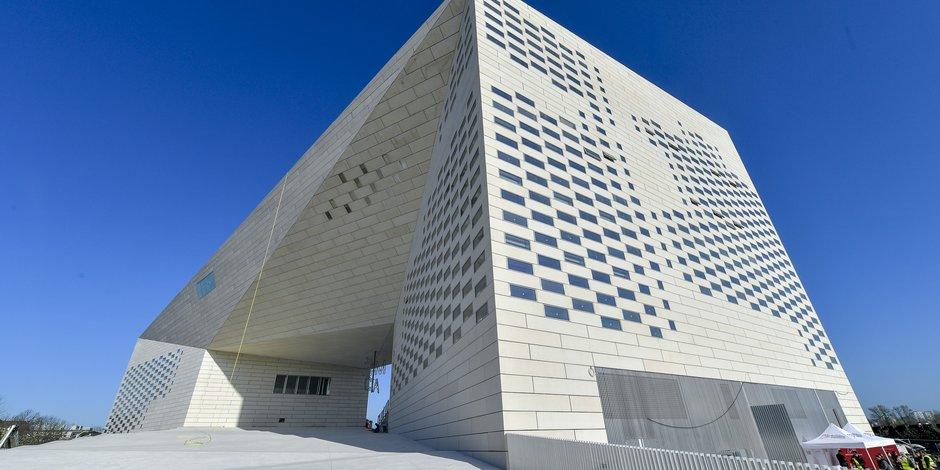 La Méca, Maison de l'économie créative et de la culture de Nouvelle-Aquitaine, à Bordeaux Euratlantique.