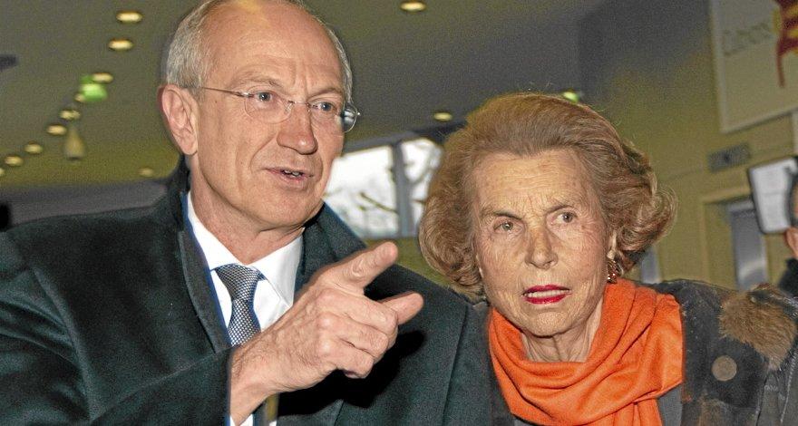 Jean-Paul Agon et Liliane Bettencourt