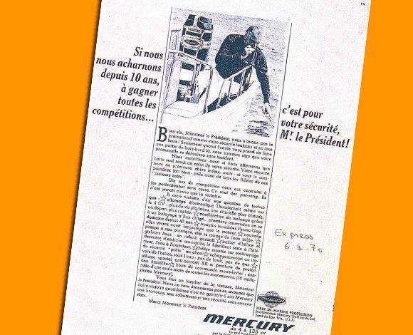Première campagne gagné : Mercury