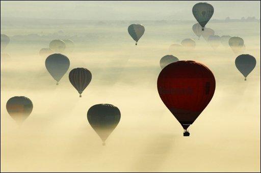 La taxe sur le voyage en montgolfière