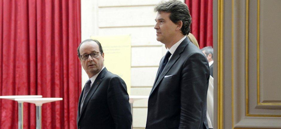 Hollande signe la fin d'Arnaud Montebourg
