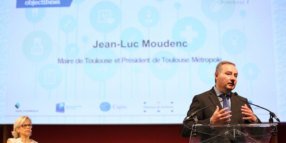 Jean-Luc Moudenc a ouvert ce premier Forum Santé Innovation