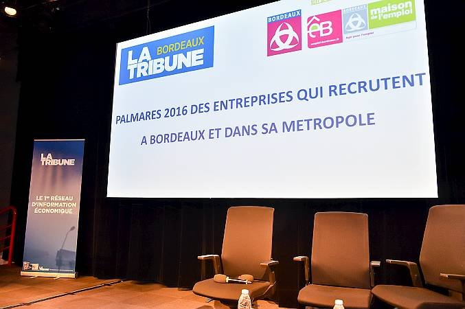 Le Palmarès dévoilé lors d'une soirée à la Cité mondiale à Bordeaux