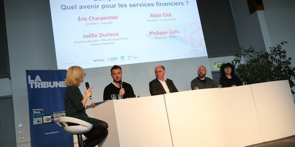La première table ronde était consacrée au thème : Banques et fintechs : quel avenir pour les services financiers ?