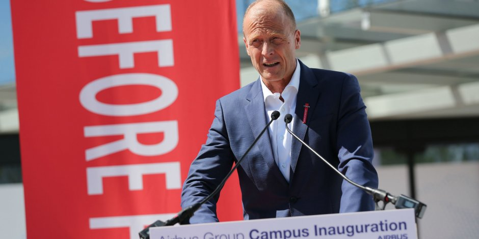 Inauguration du siège mondial d'Airbus Group