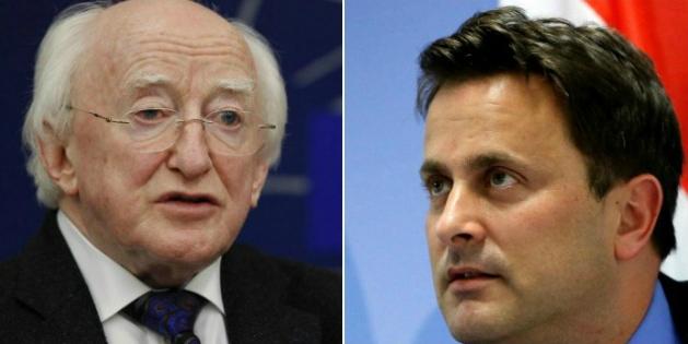 5e ex-aequo : Higgins (Irlande) et Bettel (Luxembourg) 316.000 euros
