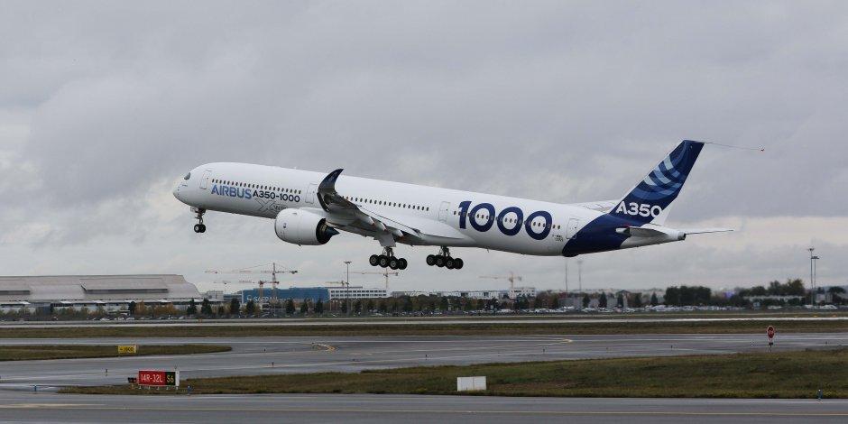 1er vol de l'A350-1000