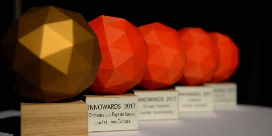Cinq prix remis aux InnoWards 2017