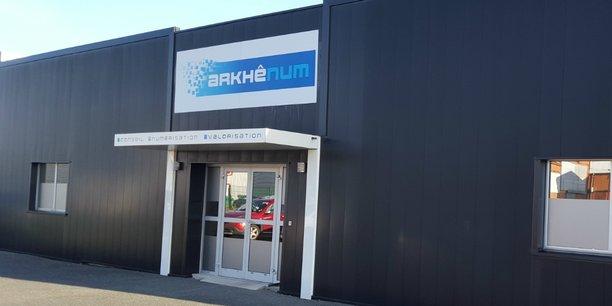 Les nouveaux locaux d'Arkhênum s'étendent sur 900 m2 rive droite, à Bordeaux.