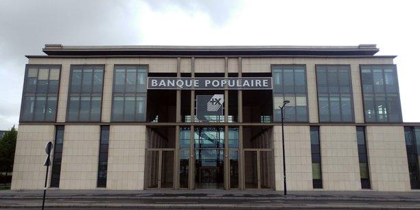 Le siège de la Banque populaire Aquitaine Centre Atlantique, rive droite, à Bordeaux.