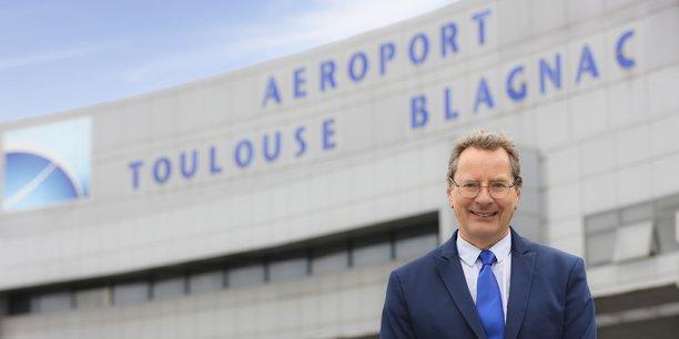 Charles Champion a été choisi pour devenir le président du conseil de surveillance de l'aéroport de Toulouse.