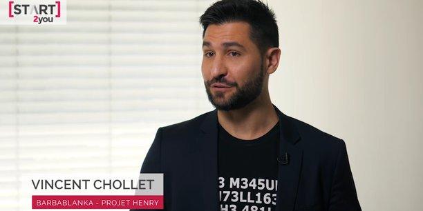 Vincent Chollet, cofondateur de Barbablanka