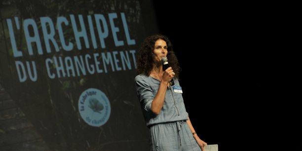 Sandrine Roudaut préconise l'utopie pour amorcer le changement.