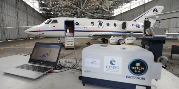 L'avion Falcon 20, un véritable laboratoire de mesures volant, sera un maillon essentiel du dispositif de la campagne Magic.