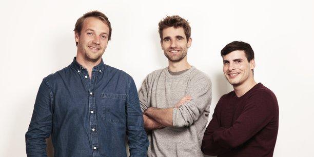 Les trois fondateurs de Back Market