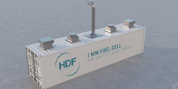 HDF Energy prévoit la fabrication de piles à combustible à forte puissance.