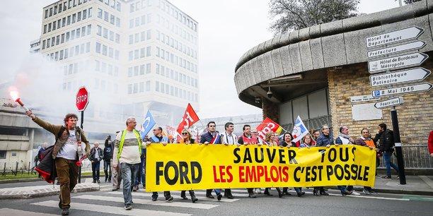 La mobilisation des syndicats n'aura pas suffi à faire plier Ford Motor Company