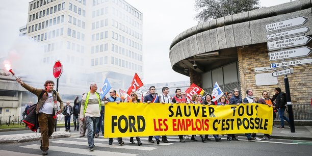 Les syndicats de Ford Aquitaine Industries n'entendent pas désarmer et laisser Ford partir.