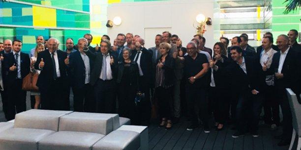 Les partenaires institutionnels et économiques associés dans le lancement de la French Fab dans les P.-O.
