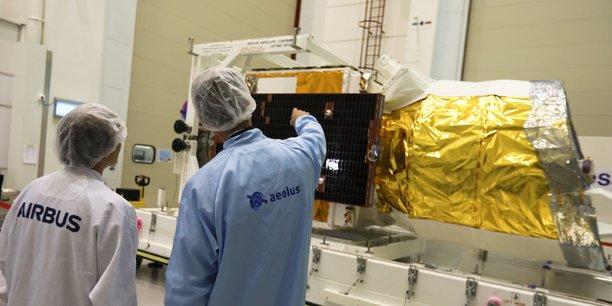 La satellite Aeolus sera capable de mesurer depuis l'espace en temps réel les vents sur Terre, une première mondiale.