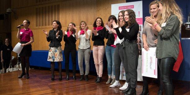 La dernière édition du Challenge InnovaTech, en mars 2018, à laquelle participait une équipe de startuppeuses et d'étudiantes de l'ex-LR