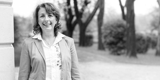 Virginie Normand, membre du directoire de la Caisse d'Épargne LR en charge de la banque de développement régional