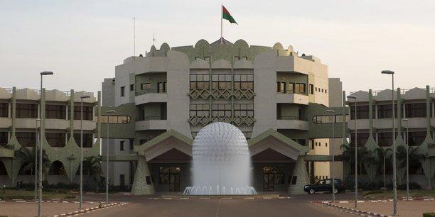 Photo de la présidence du Burkina Faso, un pays qui connaît depuis 2016 plusieurs mouvements sociaux.