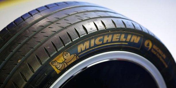 Le titre Michelin a en partie effacé les gains enregistrés en 2017, année où l'impact des matières premières avait pourtant été très lourd.