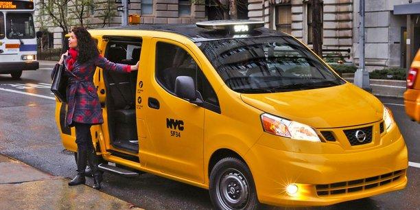 Pas de Nissan NV200 pour les chauffeurs des taxis jaunes new yorkais