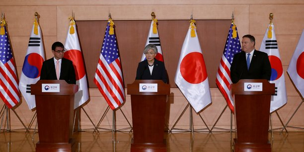 Usa, japon et coree du sud affichent leur fermete face a pyongyang[reuters.com]
