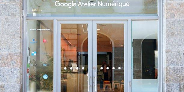 Le premier Atelier Numérique Google s'ouvre en Bretagne.