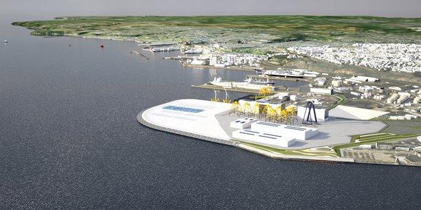 À l'horizon 2020, le complexe portuaire de Brest aura fait peau neuve. Avec un objectif : assurer la compétitivité de la Bretagne en privilégiant l'hydrolien et l'éolien offshore.