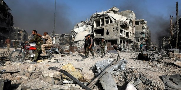 Syrie: washington alloue 6,6 millions de dollars aux casques blancs et a l'onu[reuters.com]
