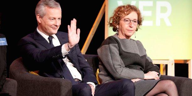 Bruno Le Maire et Muriel Pénicaud.
