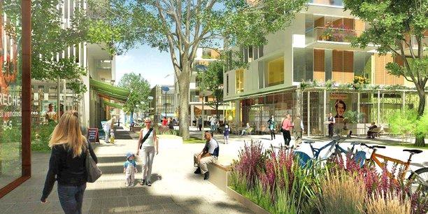 Le quartier des Facultés à Saint-Maur-des-Fossés, sur 6,6 hectares privilégiera la qualité de vie.